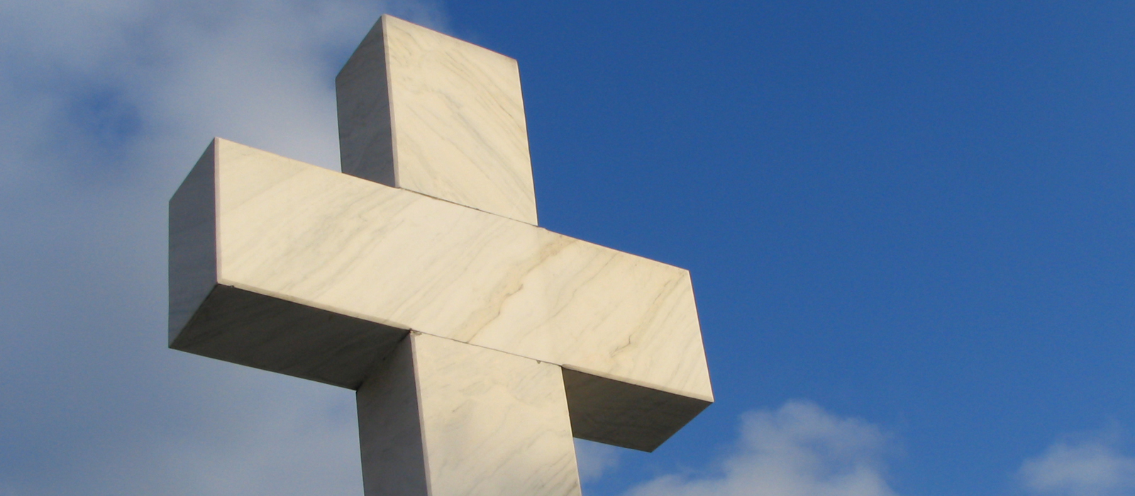 cross monument outside