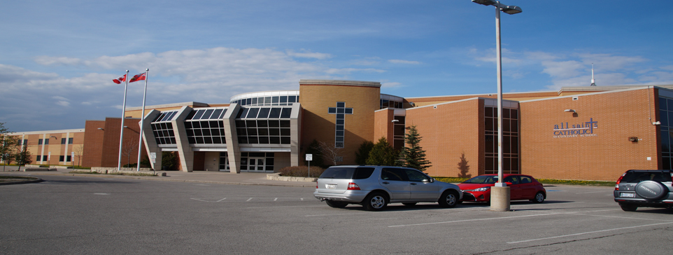 exterior of high school