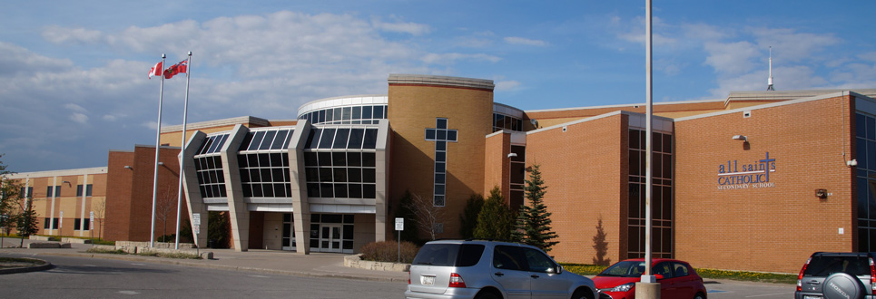 exterior of high school